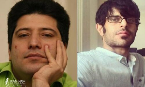 Two journalists arrested