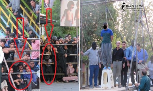publicly hanged