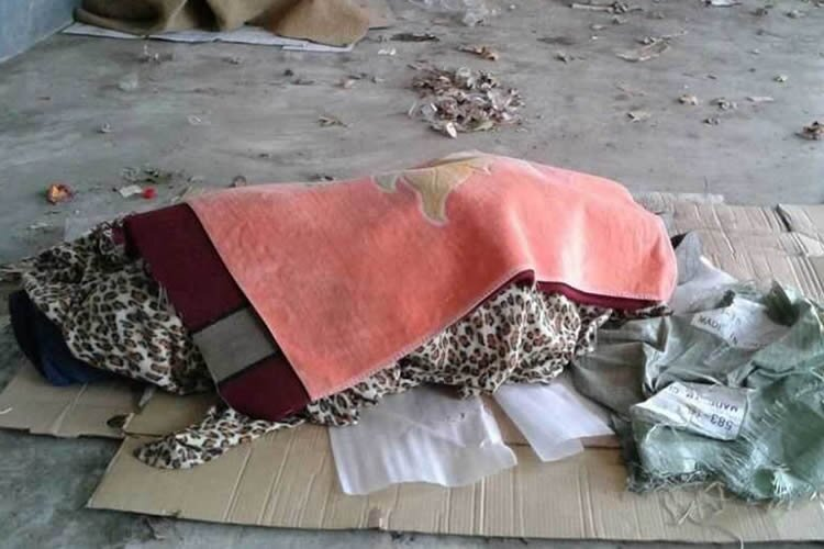 Iran: Body of dead homeless woman found in trash