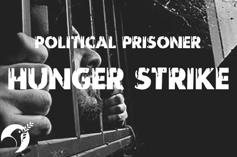Iran-politicalprisoner-Hunger strike