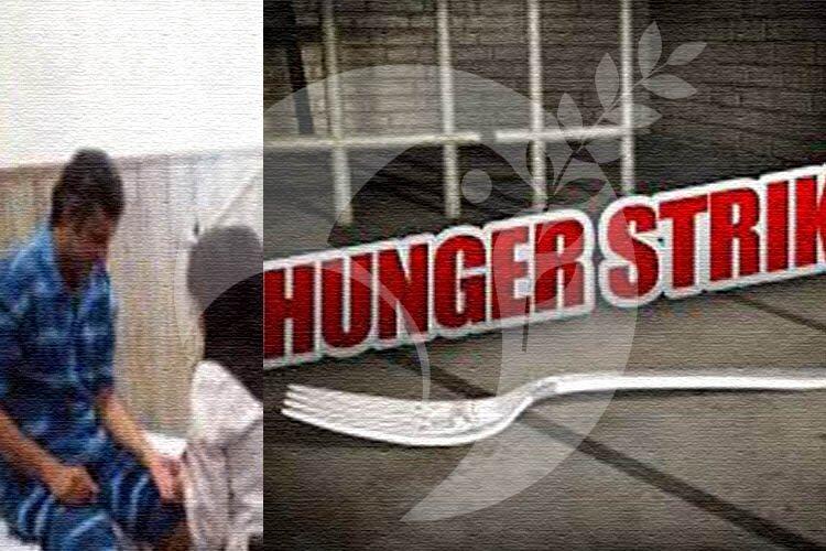 Hunger-striking