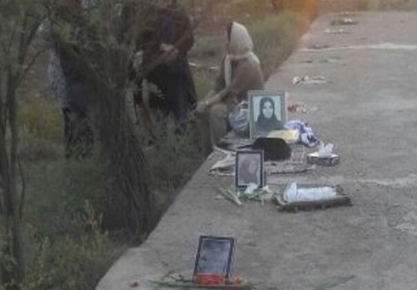 Iran Desecrating mass grave site