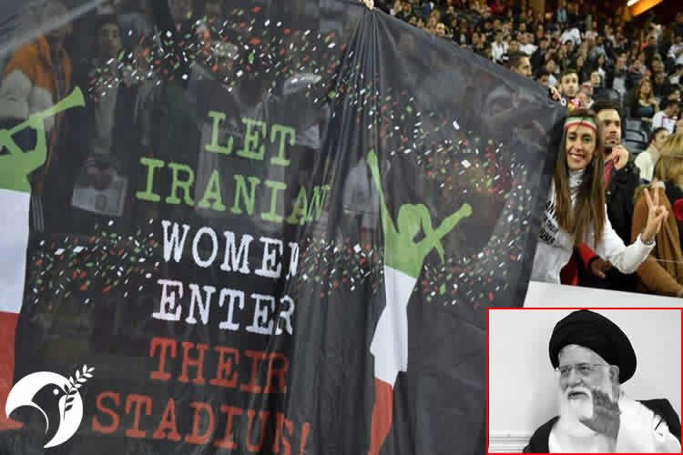 "Khamenei's rep calls women cheering sports teams ""epitome of sin"""