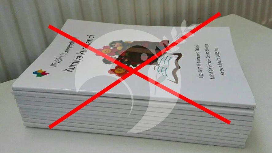 The ban on the Handbook in Kurdish language
