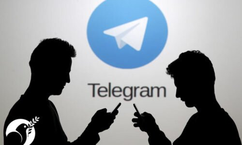 Telegram activist in Iran