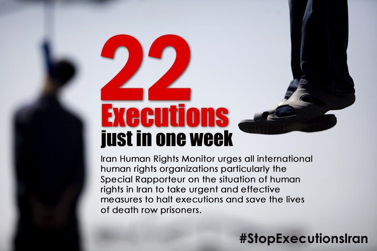 Iran incessant executions