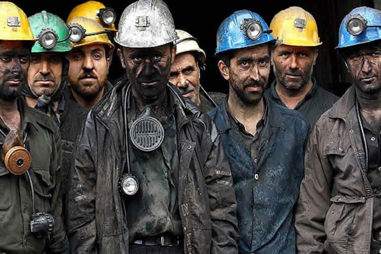 Iran coal miners