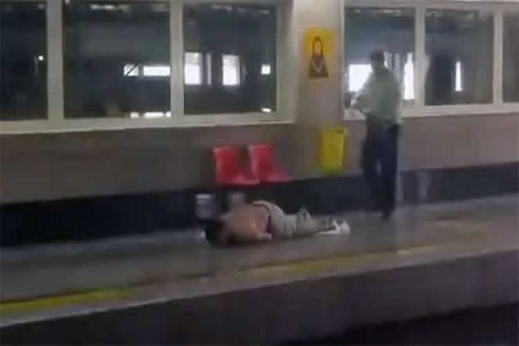 Iran: A man shot dead by Iran Security Force in subway station