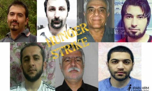 hunger striking political prisoners