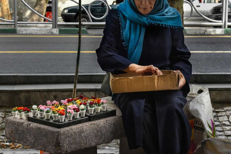women unemployed in Iran
