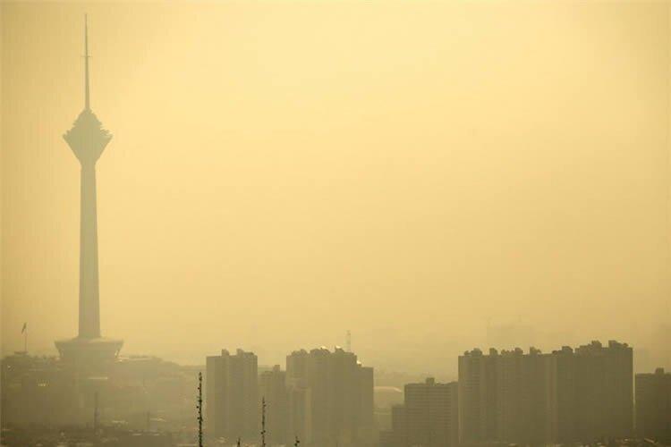 Iran's air pollution