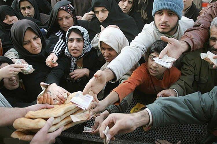 Iranisn facing famine