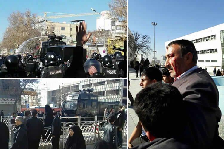 Mashhad protesters