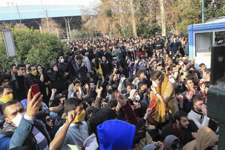 Iran protests continue