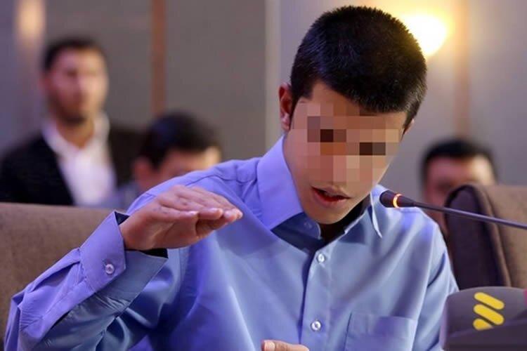 Iranian juvenile offender