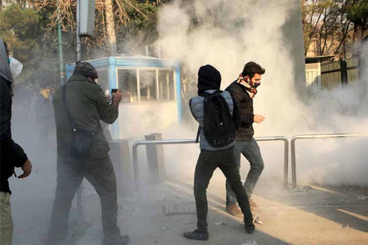 arrested during Iran protests