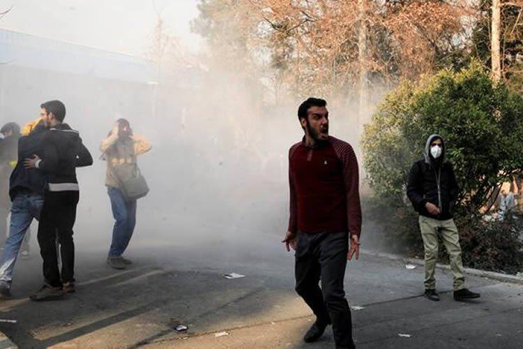 killing Iranian protesters