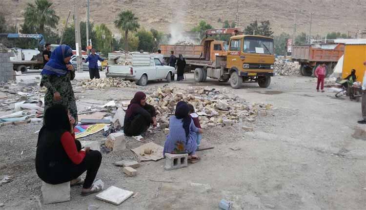 Iran earthquake survivors
