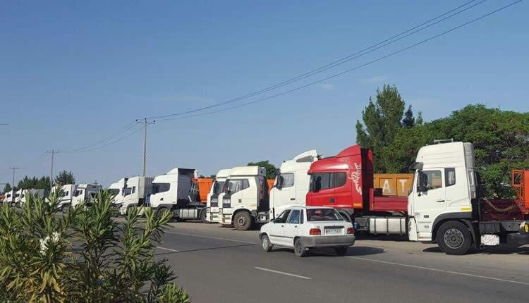 Iran trucker's strike