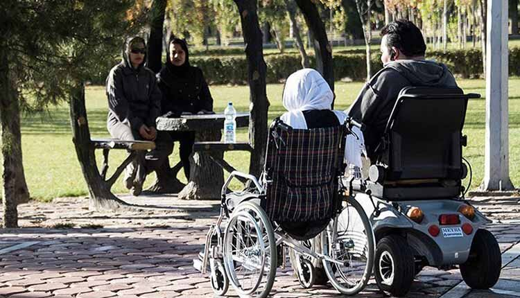 Iran people disabilities