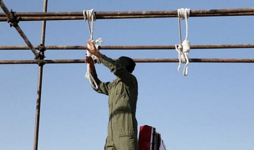 Two prisoners hanged in Adelabad Prison