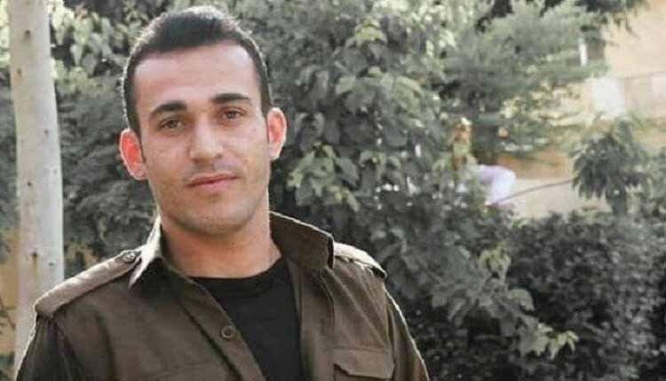 Kurdisn political prisoner Ramin Hossein Panahi