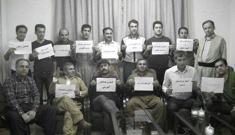 Iran's teachers strike