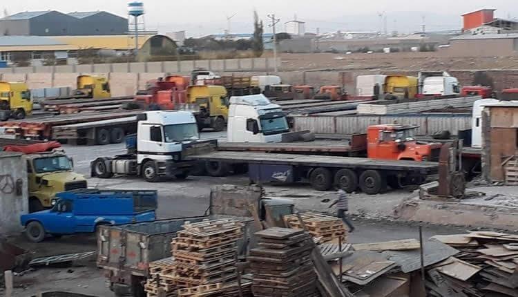 Iran truck drivers