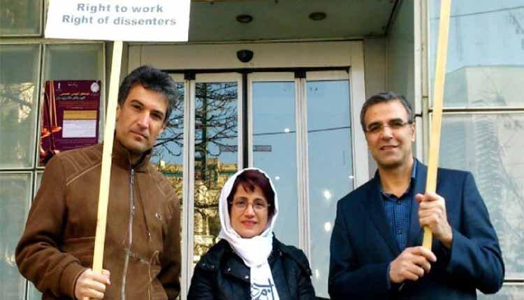Nasrin sotoudeh-Reza Khandan