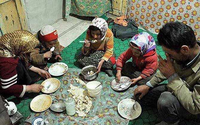 Iran poverty