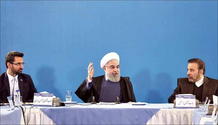 Rouhani admitted media are controlled