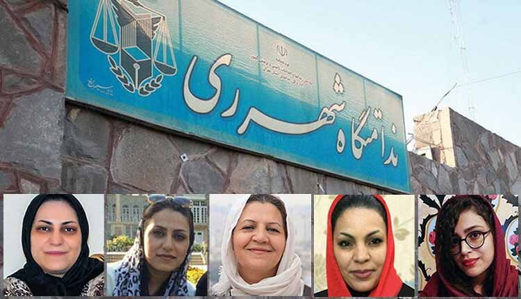 Iranian dervish women