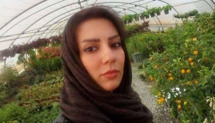 Kurdish civil activist Sahar Kazemi