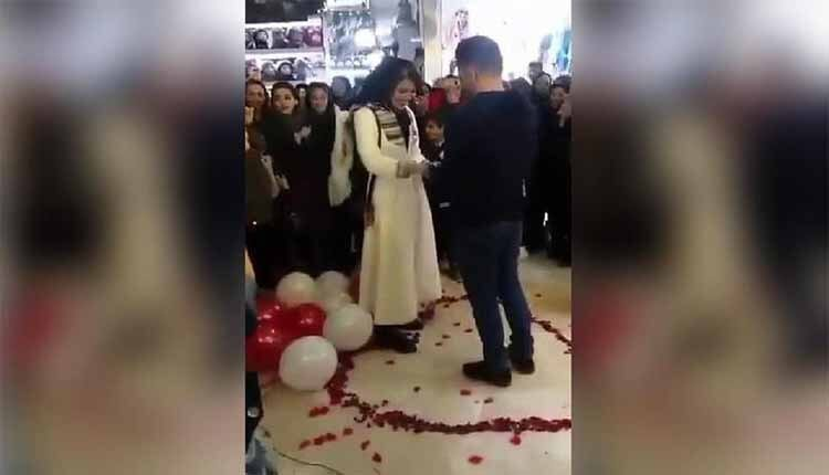 couple arrested for public marriage proposal
