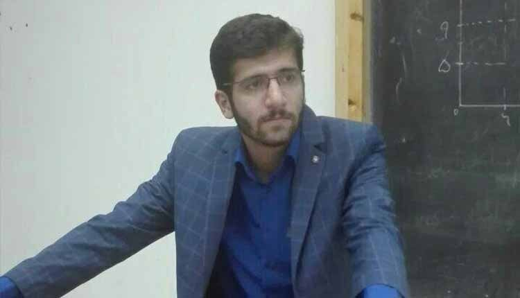 Imprisoned university student Mojtaba Dadashi