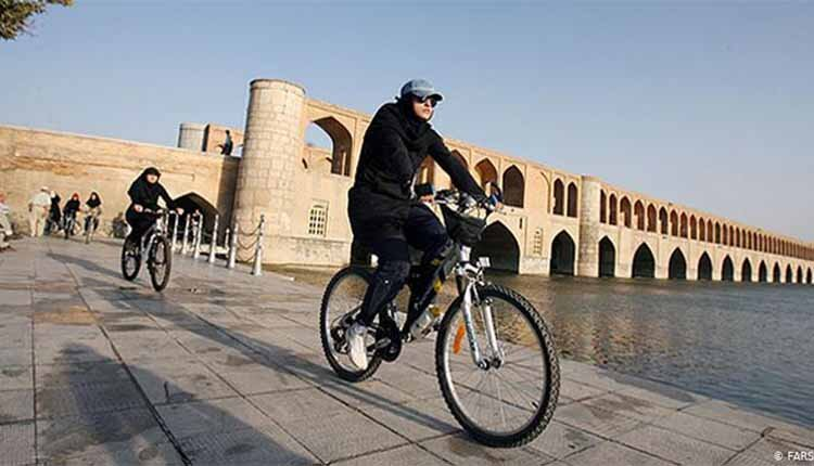Women's cycling banned in Iran