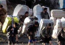 Iran Kurdish Porters