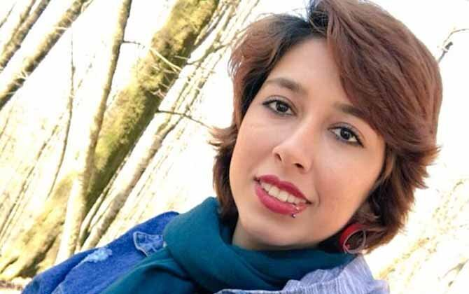 Prisoner of conscience Saba Kord Afshari