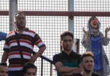 woman banned from stadium