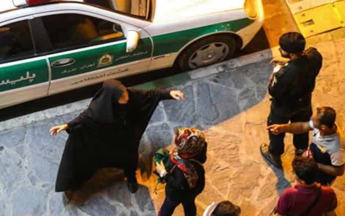 Iran arrested partygoers