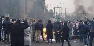 Kayhan threatened protesters with execution by hanging