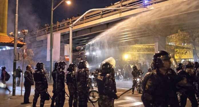 Iran Protests after Ukrainian plane crash