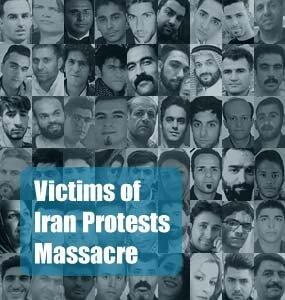 Victims of Iran Protests Massacre