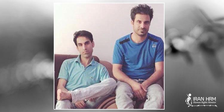 Afkari brothers Habib and Vahid