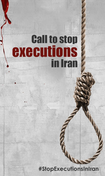 call to stop executions in Iran