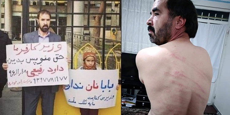 """Man flogged 74 times for 'insulting"""" Labor Minister in Iran"""