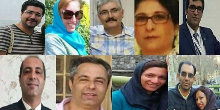 nine Baha'i citizens