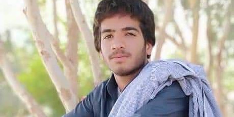 Young Baluch man killed